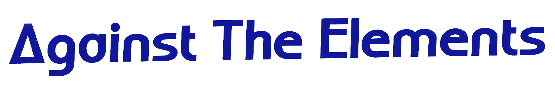 Against The Elements text logo